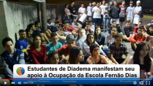Manifestação de Apoio à Ocupação Fernão Dias (vídeo)