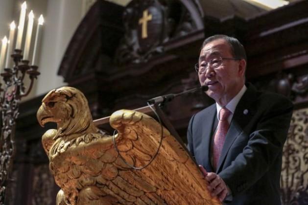 Ban Ki Moon pide paz y negociaciones en el Sahara Occidental