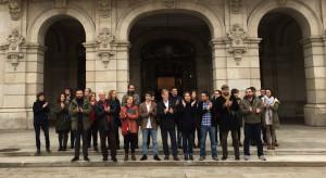 Las ciudades por el cambio se concentran contra la guerra en A Coruña