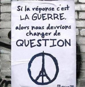 Una opinión sobre los recientes atentados terroristas en París