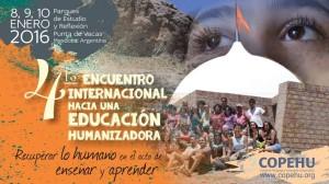 Encuentro Internacional de Educación: Recuperar lo humano en el acto de de enseñar y aprender