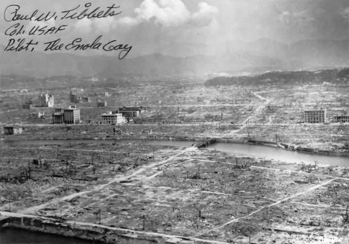 Las bombas de Hiroshima y Nagasaki fueron un acto de terrorismo