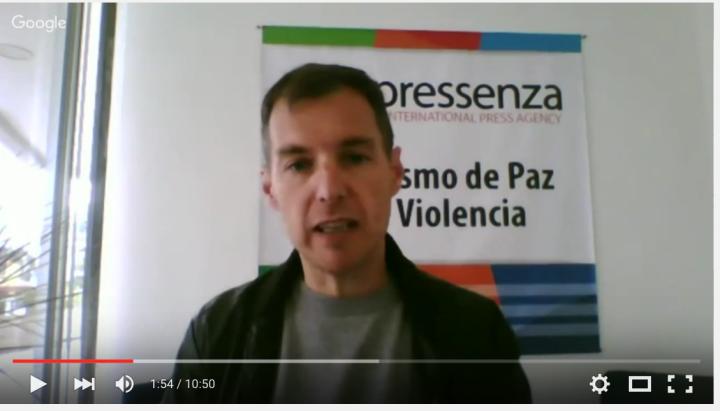 [Forum Madrid violences urbaines] Pressenza : des citoyens qui racontent l'histoire des mouvements sociaux