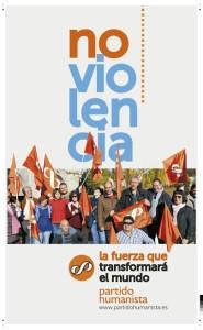 Partido Humanista de España ante elecciones: la noviolencia más necesaria que nunca