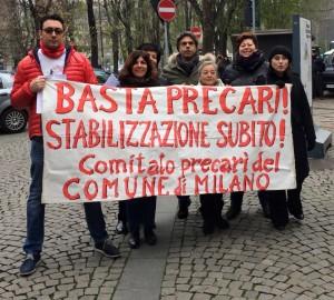 Le richieste dei lavoratori e le politiche occupazionali dell'Amministrazione Comunale di Milano