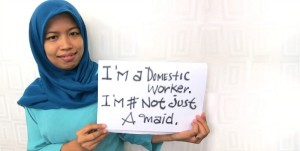 Indonesia, #NotJustAMaid (NoSoloUnaSirvienta)