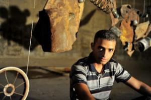 Abdullah al-Rozzi: arte a Gaza, all'ombra dell'occupazione