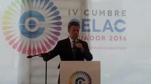 Ο Πρόεδρος της Κολομβίας χαιρετά την πρόοδο που σημειώθηκε στο ψήφισμα για τα 50 χρόνια του εμφυλίου πολέμου