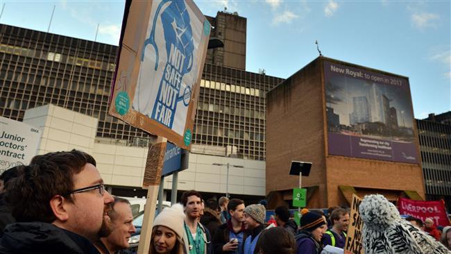UK junior doctors go on strike