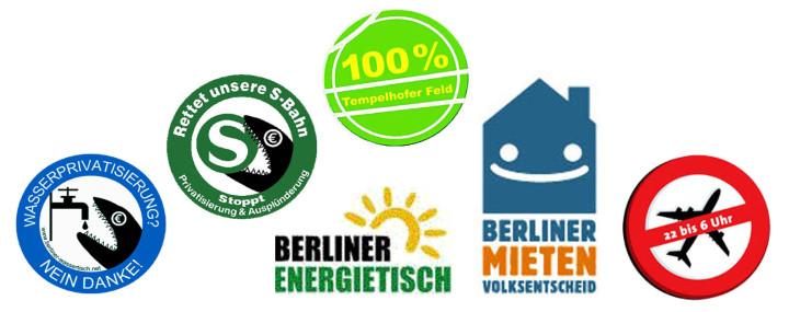 """Berlin: Bündnis fordert """"Hände weg vom Volksentscheid!"""""""