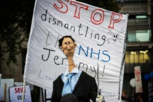 The UK Health Service under attack, doctors strike to defend it