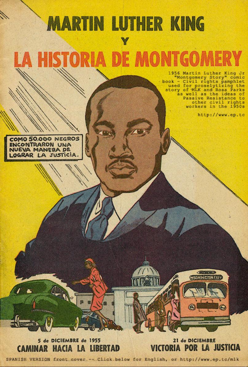 Pressenza - El cómic de Luther King que enseña a luchar mediante la ...
