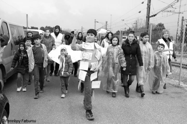 Parade für Offene Grenzen – Wir fordern eine sichere Passage für diese Menschen