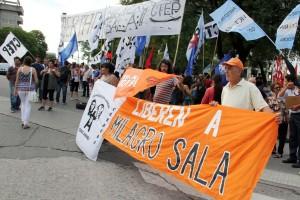 Fotoreportaje: Desde Córdoba, por la liberación de Milagro Sala