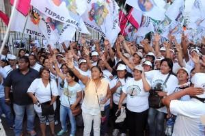Exigen desde Brasil la libertad de Milagro Sala