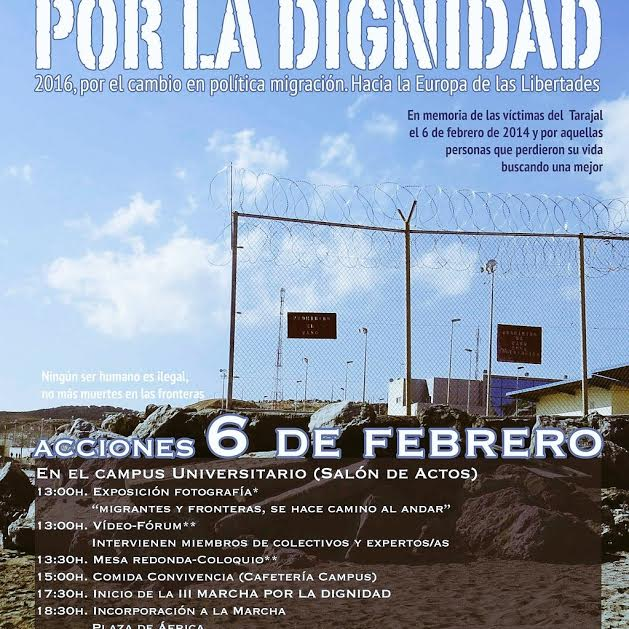 cartel III marcha dignidad ceuta