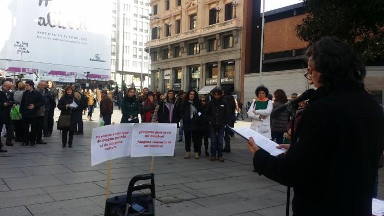 Celebración del Día de la Paz en Madrid