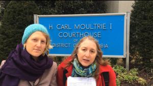 Pacientes de cáncer que protestaron contra el TPP son procesadas en Washington DC