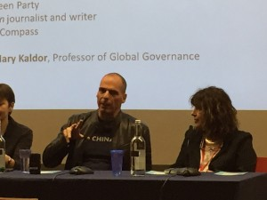 Varoufakis in London joins Compass panel