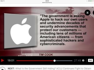 Apple vs. the FBI