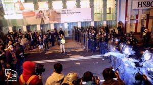 Fish ball riots in Hong Kong's Mongkok