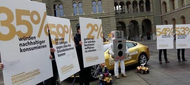 Le 5 juin, le peuple suisse votera sur le revenu de base