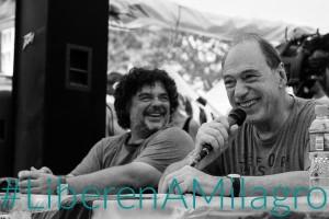 Zaffaroni en el acampe de la Tupac Amaru «La detención de Milagro es un escándalo internacional»