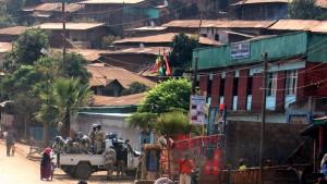 Frieren Sie die Militärhilfe für Äthiopien ein, bis Äthiopien die Menschenrechte achtet!