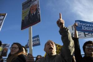 Alistan grupos anti-Trump masivo acto de desobediencia civil