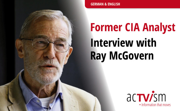 CIA Analyst Ray McGovern – Exclusive Interview Video