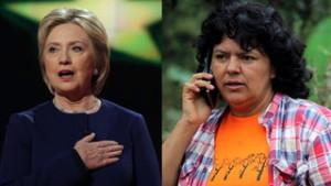 Antes de su asesinato, Berta Cáceres denunció el apoyo de Hillary Clinton al golpe de Estado en Honduras