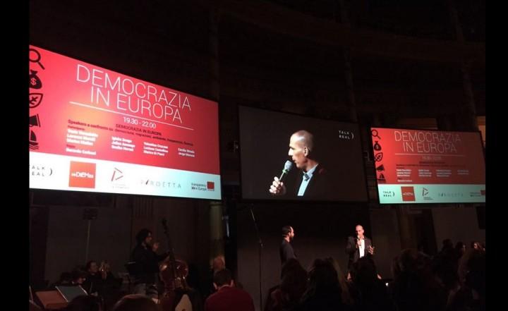 Demokratie, Transparenz, Migration, Ökologie, Wirtschaft: DiEM25 kommt in Italien an.