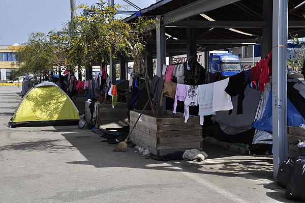 Port du Pirée en Grèce : le choix de l'Humain