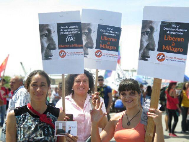 Solidaridad con la Tupac Amaru y Milagro Sala del Partido Humanista