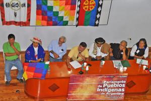 Parlamento de pueblos indígenas de Argentina