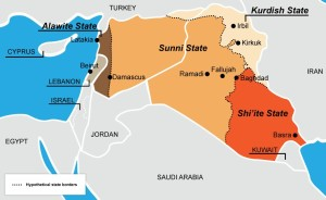 The Great Game & the partition of Syria