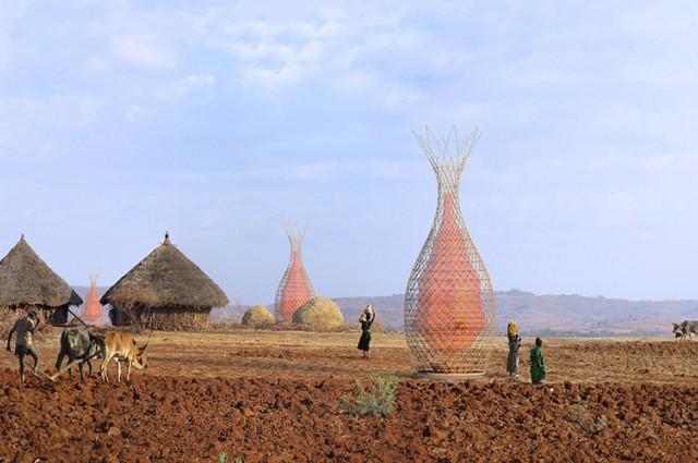Warka Water come tecnologia adatta a regioni desertiche