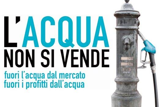 Acqua pubblica, Roma: Il momento di agire è adesso
