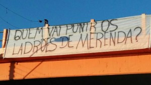 Apesar de prisões, estudantes paulistas querem avanço na investigação da máfia da merenda