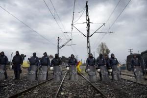 Macedonia, fermati 40 reporter europei, tra cui tre di NurPhoto