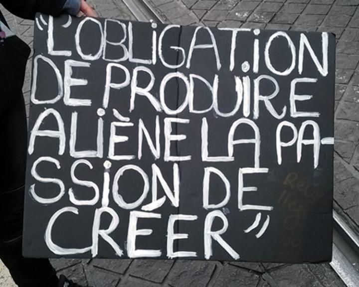 Marseille 17 mars : manifestation étudiante contre la loi du travail… la police intervient avec violence