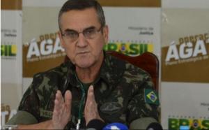 Brasil: Comandante do Exército fala contra intervenção militar