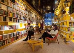 New London, la libreria dove sono vietati cellulare e tablet