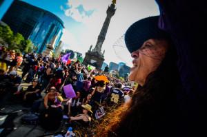 La Ciudad de México se pinta de Violeta