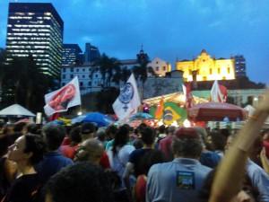 Não vai ter golpe no Brasil
