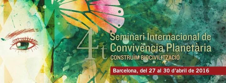 4t Seminari Internacional de Convivència Planetària