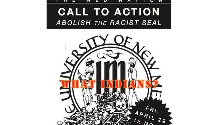 Call to Abolish the University of New Mexico's Seal
