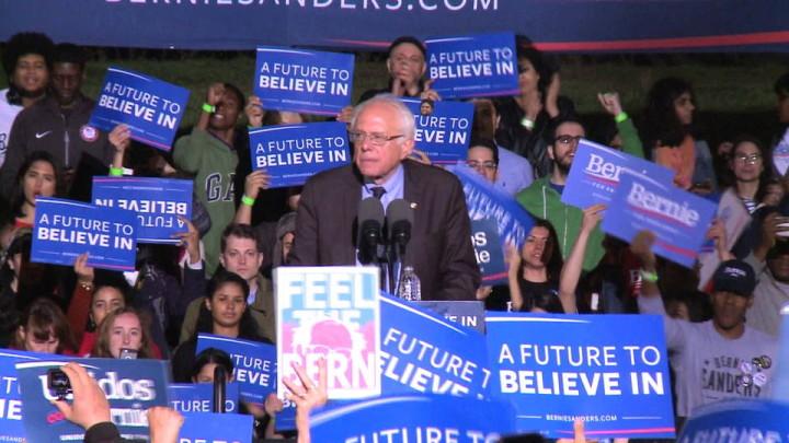 "Bernie Sanders: ""La lotta continua"""