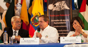 La Palestine au secours de l'Equateur