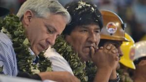 Morales propone convertir a Bolivia en 'capital antiimperialista'